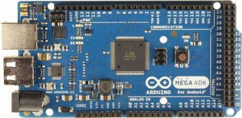 Arduino ADK R3 - widok z góry