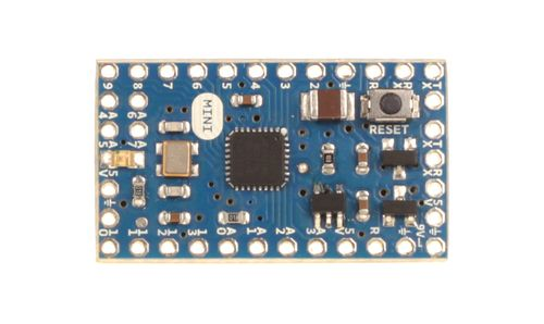 Arduino Mini 05 - widok z góry