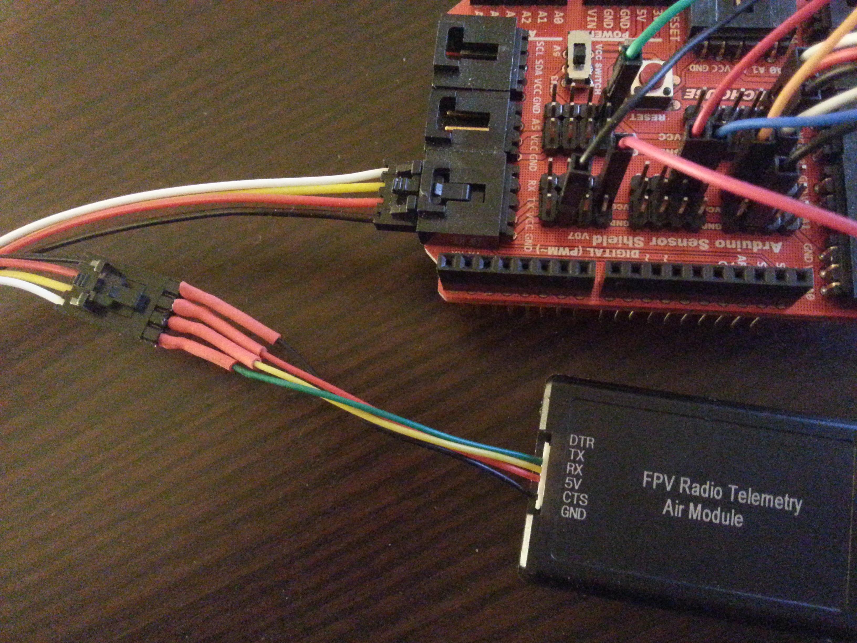 FPV 433Mhz Radio Telemetry Kit 100mW V1 1 - Sklep Kamami
